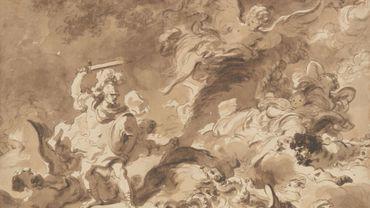 """""""Renaud dans la forêt enchantée"""" par Fragonard"""