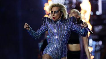 Lady Gaga lors du Super Bowl