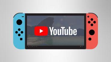 YouTube est disponible sur la Nintendo Switch