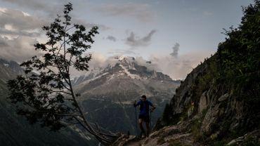 L'UTMB, c'est une course de 170 km en pleine nature sur des sentiers escarpés de montagne