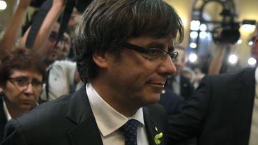 La justice espagnole (Audicio nacional) avait ordonné ce jeudi l'arrestation du président catalan déchu Carles Puigdemont.