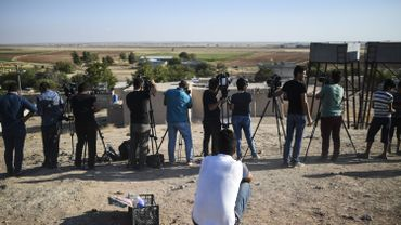 La FEJ dénombre une centaine de journalistes emprisonnés en Turquie; parmi eux plus de 60 l'ont été après le 15 juillet.