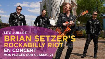 Vos places pour le concert de Brian Setzer's Rockabilly Riot!
