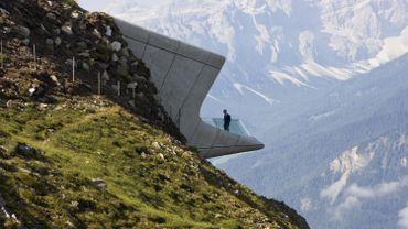 Le Messner Mountain Museum Corones par Zaha Hadid.