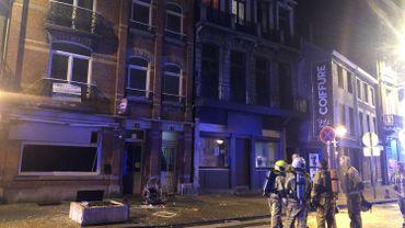 Une bonbonne de gaz à l'origine d'une explosion à Verviers