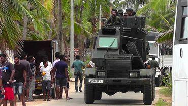 L'armée patrouille à Kalmunai
