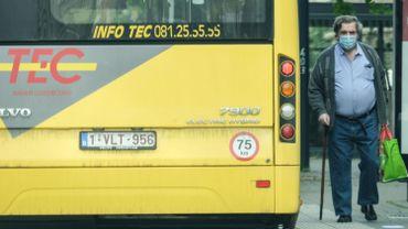 Les bus du TEC aidés par des autocaristes pour assurer certaines lignes en période de Covid