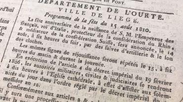 Le 15 août, Saint-Napoléon, anniversaire de l'Empereur et (ancienne) fête nationale française