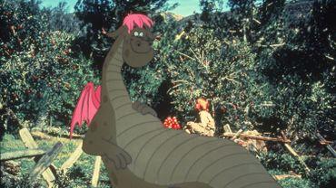 """Le premier film """"Peter et Elliott le dragon"""" (""""Pete's Dragon"""") est sorti en 1977"""