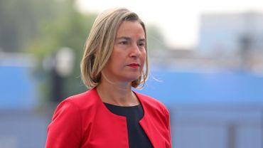 """Accord de libre-échange UE-Australie: Mogherini souhaite un accord au plus tôt pour """"donner l'exemple"""""""