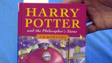 """L'enchère concernait une édition spéciale de """"Harry Potter à l'Ecole des Sorciers"""", parue en 1997 à seulement 500 exemplaires."""