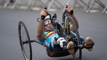 Déjà trois médailles pour les handbikers en Coupe du monde à Ostende