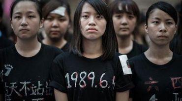Honk Kong : commémoration de la répression de Tienanmen