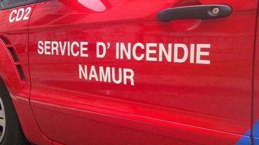 Les pompiers de Namur ont terminé de circonscrire l'incendie vers 2h00 du matin.