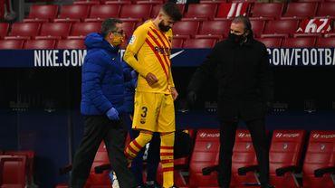 Piqué touché aux croisés du genou droit, Sergi Roberto out deux mois