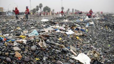 Déchets plastiques: les produits d'une poignée de multinationales polluent la planète selon un rapport