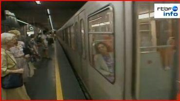 """Les """"trous""""du métros bruxellois"""