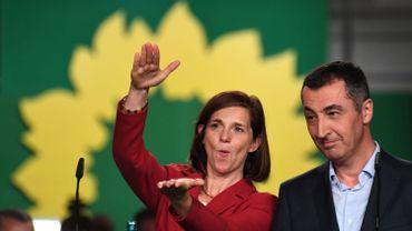 Elections allemandes: les Verts allemands tentés par une alliance avec Merkel