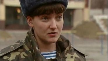 Nadia Savtchenko est une figure emblématique, héroïne pour les uns, figure idéale de n'ennemi pour les autres.