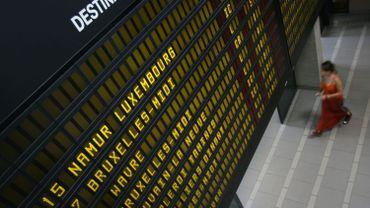SNCB: la crise économique à la base de la chute du nombre de voyageurs?