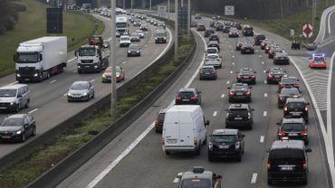 Plusieurs accidents sur le ring de Bruxelles: importants ralentissements