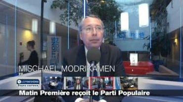Mischaël Modrikamen: cela ferait du bien au PS d'être dans l'opposition