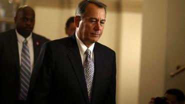 John Boehner, le président républicain de la Chambre des Représentants