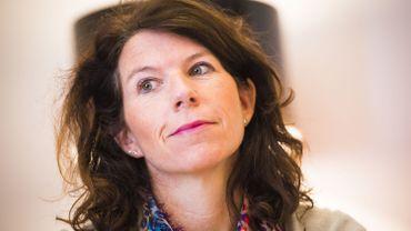 Bianca Debaets (CD&V), secrétaire d'État bruxelloise en charge de la Sécurité routière.