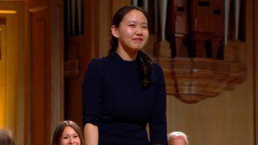 Stella Chen 1e lauréate du Concours Reine Elisabeth 2019