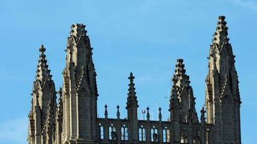 La cathédrale a perdu des morceaux