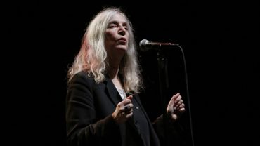 La rockeuse américaine Patti Smith