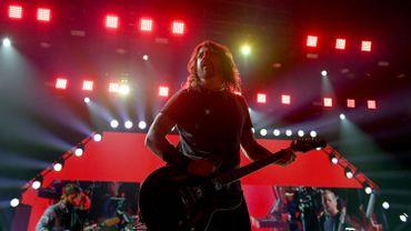 Les membres de Nirvana pour le concert caritatif «Heaven is Rock & Roll»!