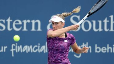 Elise Mertens rejoint Elina Svitolina au 2e tour à Cincinnati