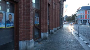 Dans les rues de Tournai