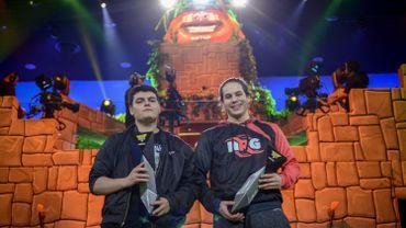 L'Américain Ghost SAF (G, 16 ans) et le Canadien NRG Zayt (D, 19 ans) doit empocher 80.000 dollars