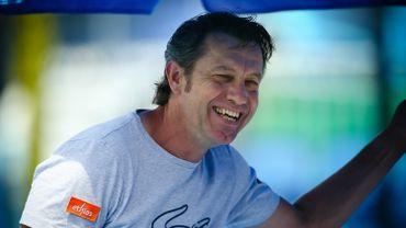 Thierry Van Cleemput, entraîneur de David Goffin