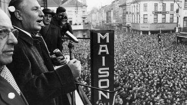 Discours du syndicaliste FGTB André Renard