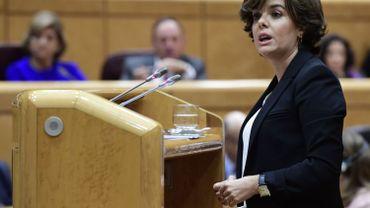 Jeudi, Soraya Sáenz de Santamaría avait indiqué que le gouvernement espagnol étudiait la possibilité de se pourvoir devant la Cour constitutionnelle et que l'avis du Conseil d'Etat avait été sollicité.