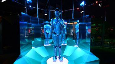 """Le robot du film de Fritz Lang """"Metropolis"""" exposé à Londres"""