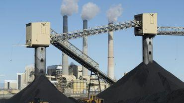 La centrale électrique au charbon de Pacificorp, à Castle Dale (Utah, le 9 octobre 2017