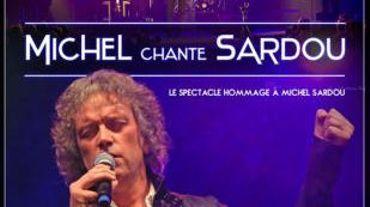 Michel chante Sardou à Arlon le 23 avril