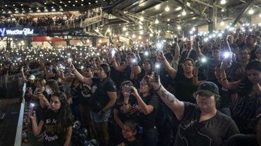 Des milliers de personnes présentes à la veillée pour les victimes de la fusillade d'El Paso