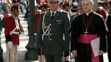Pédophilie: le nonce apostolique au Chili muté au Portugal