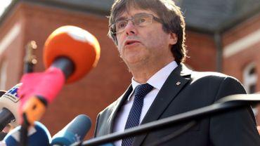 Crise en Catalogne: Puigdemont doit prendre publiquement la parole à Berlin