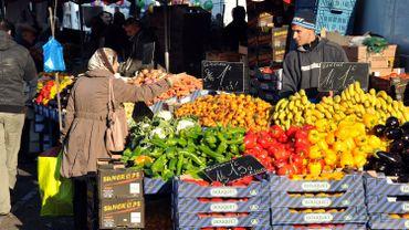 40% des Bruxellois vont toutes les semaines au marché