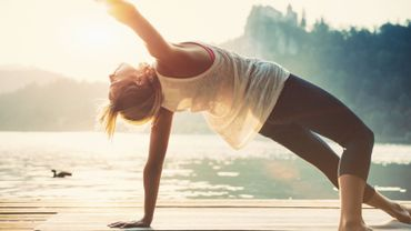 Le yoga aide les personnes asthmatiques à se sentir mieux.