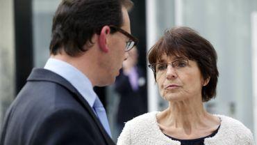 Wouter Beke et Marianne Thyssen à Bruxelles, le 17 septembre 2015.