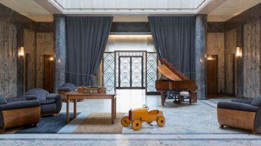 Flamboyant - Expo à la Villa Empain : Salon de musique