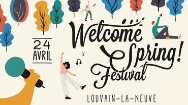 Le Welcome Spring Festival reviendra le 24 avril dans le centre de Louvain-la-Neuve