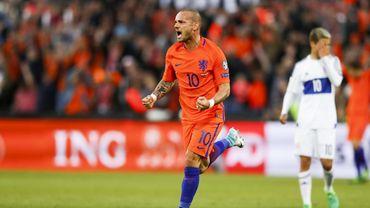 Wesley Sneijder a réalisé une grande carrière sous les Oranje.